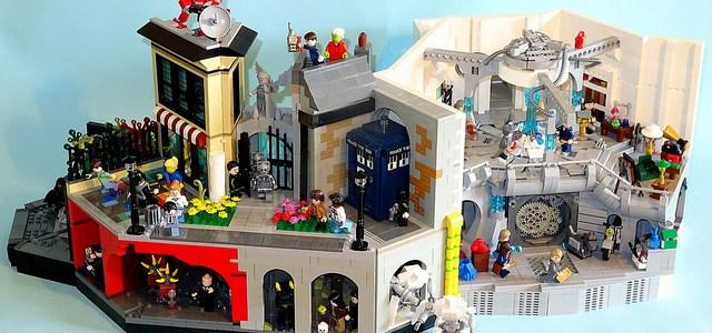 Diorama Doctor Who TARDIS