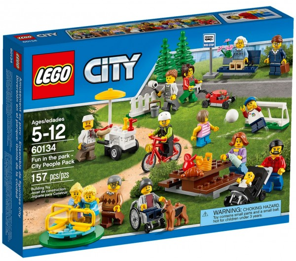 LEGO 60134 Fun in the Park (City People Pack)