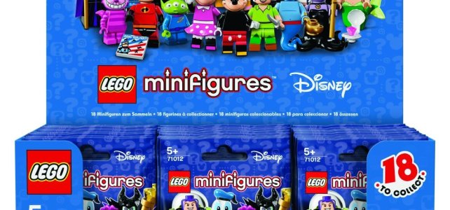 LEGO Disney Collectible Minifigures Box