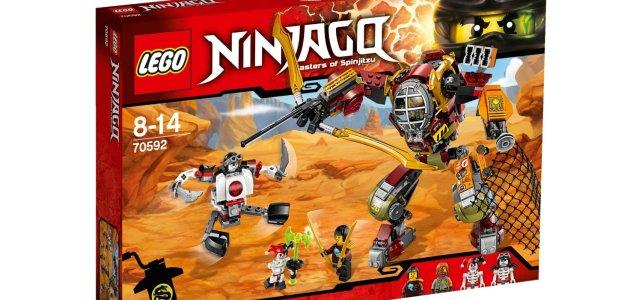 Nouveautés LEGO Ninjago 2016