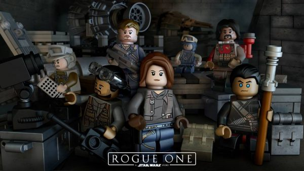 LEGO Star Wars Rogue One minifigs