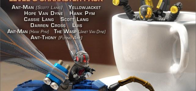 LEGO Marvel Avengers pack DLC Ant-Man