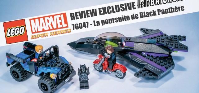 Review 76047 Lego Marvel 76047 la poursuite de Black panthère