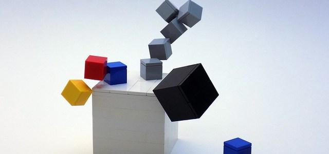 Art LEGO illusion