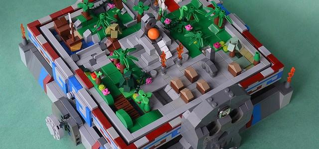 LEGO Ideas Maze personnalisé labyrinthe aztèque