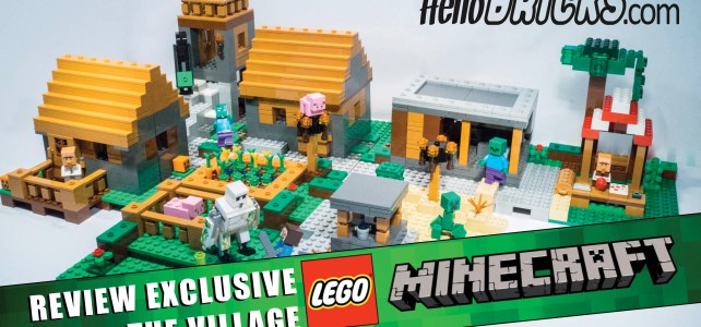 REVIEW LEGO Minecraft 21128 Le village