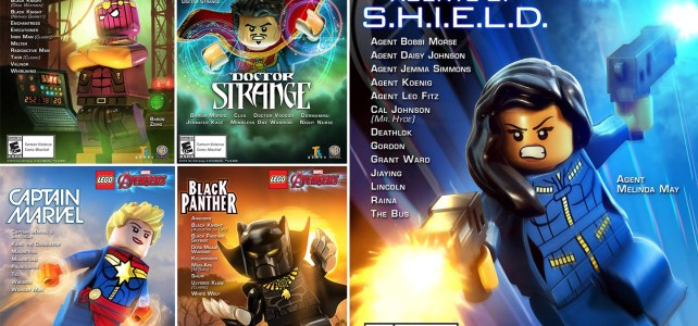 Pack DLC LEGO Marvel Avengers Agents of S.H.I.E.L.D.