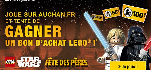 Auchan LEGO Star Wars