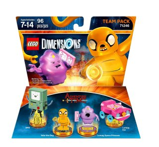 LEGO Dimensions Team Pack 71246 Adventure Time box