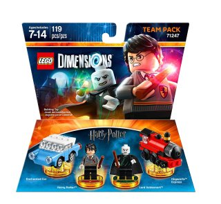 LEGO Dimensions Team Pack 71247 Harry Potter box