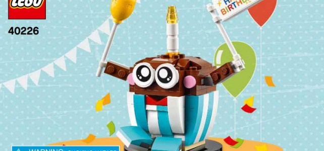 LEGO 40226 Seasonal Birthday Buddy : premier visuel