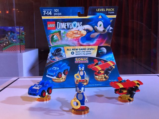 LEGO Dimensions 71244 Level Pack Sonic The Hedgehog