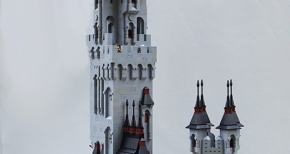 LEGO Castle tower