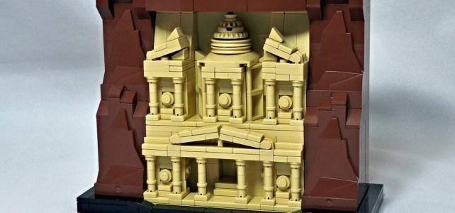 LEGO Micro Petra Jordanie
