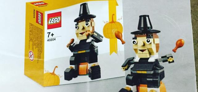 LEGO Seasonal 40204 Thanksgiving Pilgrim : premier aperçu