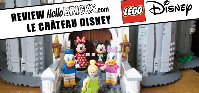 Lego 71040 review Disney Castle
