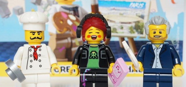 REVIEW LEGO Pack de minifigs Grand Opening - LEGO Store Forum des Halles