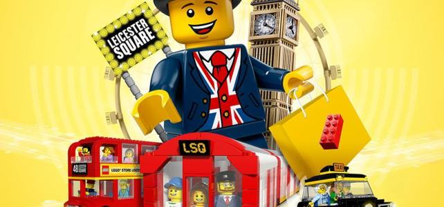 Concours LEGO Store Londres