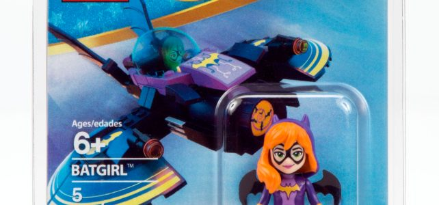 New York Comic Con 2016 : la minifig exclusive de Batgirl