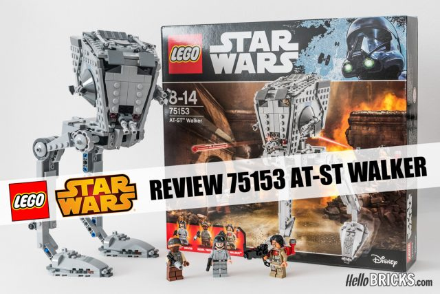 Review LEGO 75153 AT-ST Star Wars Rogue One
