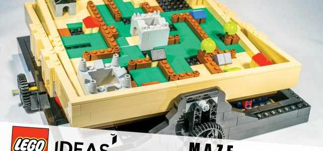 Lego 21305 - The Maze review Ideas