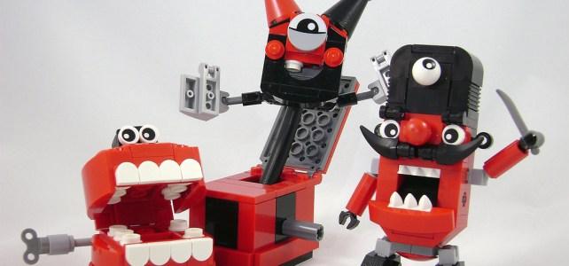 Dentier claqueur et Mixels jouets