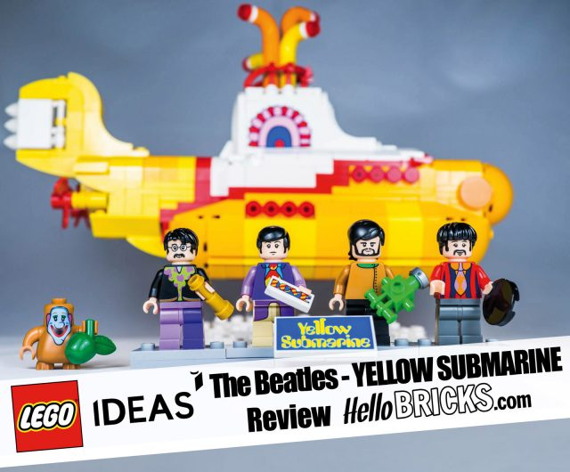 REVIEW LEGO 21306 The Beatles Yellow Submarine LEGO Ideas