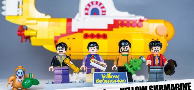 REVIEW LEGO Ideas 21306 The Beatles Yellow Submarine
