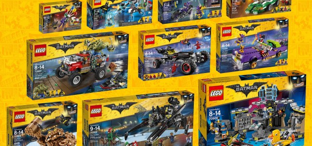 Sets The LEGO Batman Movie : le récapitulatif des visuels officiels