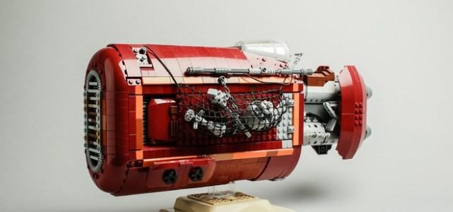 LEGO Ideas UCS Rey's Speeder
