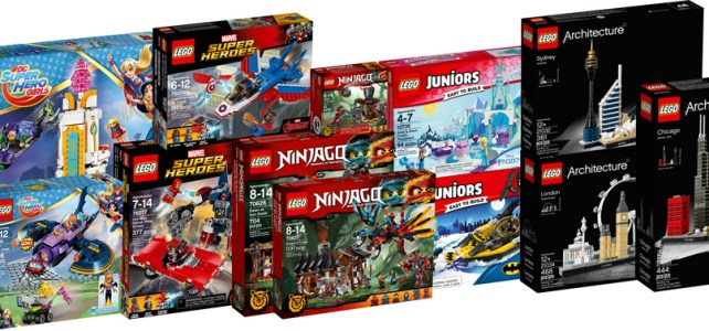 Nouveautés LEGO Super Heroes 2017