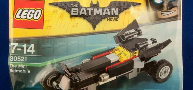 Polybag LEGO 30521 The LEGO Batman Movie Mini Batmobile