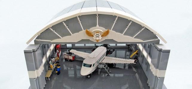 Hangar pour avions