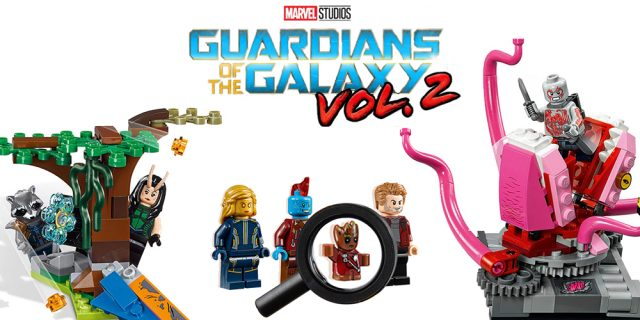 LEGO Guardians of the Galaxy vol.2 minifigs
