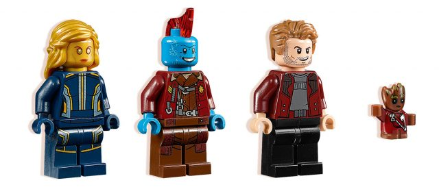 LEGO Guardians of the Galaxy vol.2 minifigs 76080