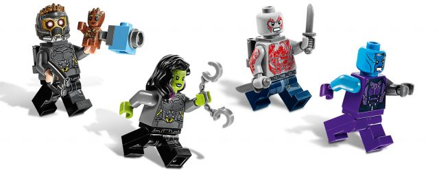 LEGO Guardians of the Galaxy vol.2 minifigs 76081