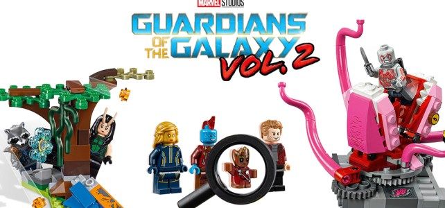 LEGO Marvel Guardians of the Galaxy vol.2 : deux versions pour Baby Groot
