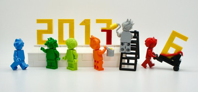 LEGO Happy New Year 2017