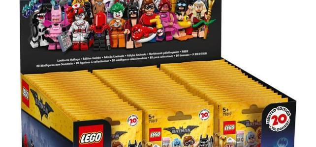 Minifigs à collectionner The LEGO Batman Movie : la boite de 60 sachets arrive sur Amazon