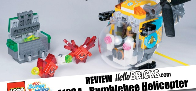 REVIEW LEGO 41234 – DC SuperHero Girls – L'hélicoptère de Bumblebee