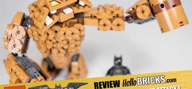 REVIEW LEGO 70904 – The LEGO Batman Movie – ClayFace Attack