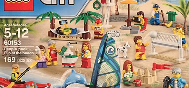 LEGO 60153 People pack - Fun at the Beach