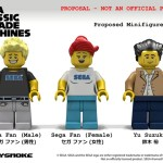 LEGO Ideas SEGA Classic Arcade Machines minifigures