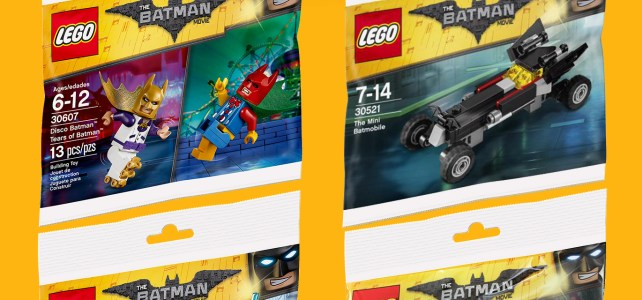 LEGO Polybags The LEGO Batman Movie