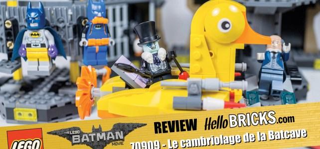 REVIEW LEGO 70909 The LEGO Batman Movie Batcave