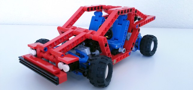 Supercar LEGO Technic 8865 redux