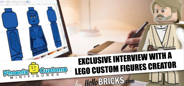 Exclusive Interview with a LEGO Custom minifigures Creator: Phoenix Customs