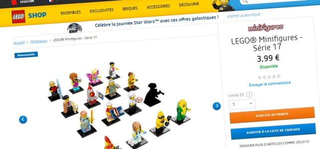 LEGO 71018 Collectible Minifigures Series 17 Shop