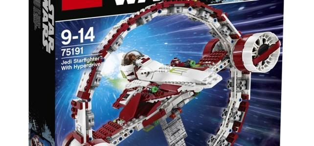 LEGO Star Wars 75191 Jedi Starfighter with Hyperdrive