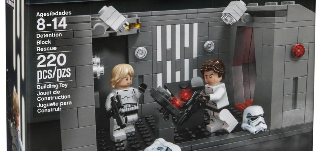 Star Wars Celebration 2017 : set LEGO exclusif Detention Block Rescue